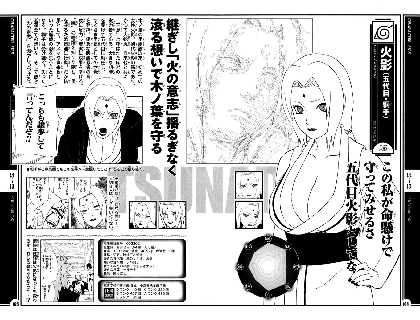 Madara cut tsunade in half